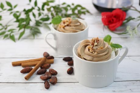 チョコレートクリームの写真素材 [FYI01160531]