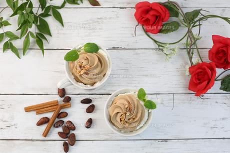 チョコレートクリームの写真素材 [FYI01160533]