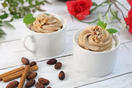 チョコレートクリームの写真素材 [FYI01160535]