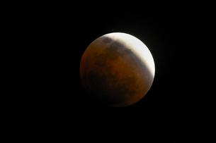 皆既月食の写真素材 [FYI01161212]
