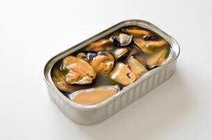 ムール貝の塩水漬けの写真素材 [FYI01161771]