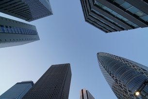 東京のビル街の写真素材 [FYI01162006]