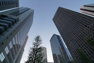 東京のビル街の写真素材 [FYI01162007]
