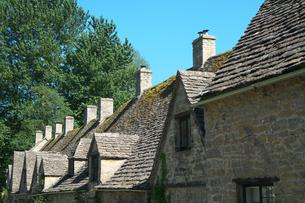 イギリス バイブリーの家の写真素材 [FYI01162018]
