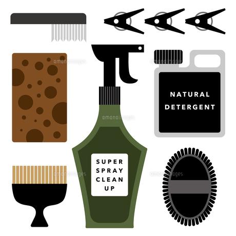 掃除道具のイラスト素材 [FYI01162239]