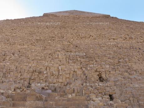 エジプト ギザのクフ王のピラミッドの写真素材 [FYI01162283]