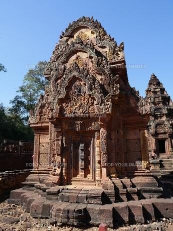 カンボジア バンテアイ・スレイ遺跡の写真素材 [FYI01162327]