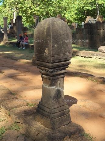 カンボジア バンテアイ・スレイ遺跡の写真素材 [FYI01162335]