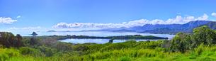 クアロアの風景(パノラマ)の写真素材 [FYI01162357]