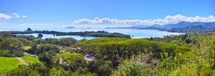 クアロアの風景(パノラマ)の写真素材 [FYI01162358]