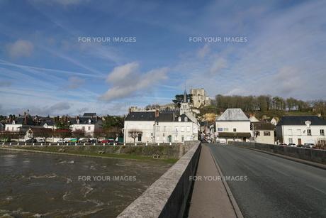 廃墟となったモントリシャール城の写真素材 [FYI01162677]