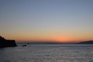紀伊水道の夕焼けの写真素材 [FYI01162817]