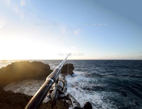 沖縄・残波岬の写真素材 [FYI01162907]