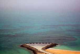 沖縄・残波ビーチの写真素材 [FYI01162910]