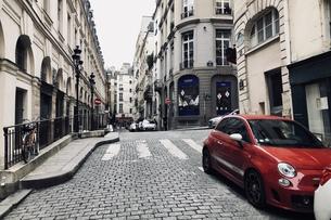 パリ 街角の写真素材 [FYI01162915]