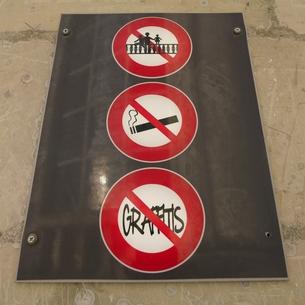 フランスの観光地の標識の写真素材 [FYI01163066]