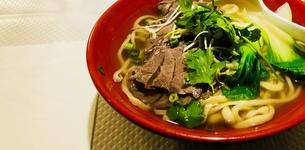 牛肉麺の写真素材 [FYI01163246]