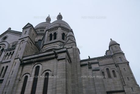 フランスの教会のガーゴイルの写真素材 [FYI01163269]