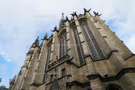 フランスの教会のガーゴイルの写真素材 [FYI01163271]