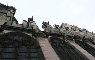 フランスの教会のガーゴイルの写真素材 [FYI01163275]
