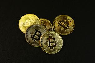 ビットコインの写真素材 [FYI01164583]