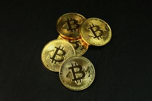 ビットコインの写真素材 [FYI01164586]