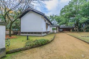 秋の宇和島城の藤兵丸 の風景の写真素材 [FYI01164615]