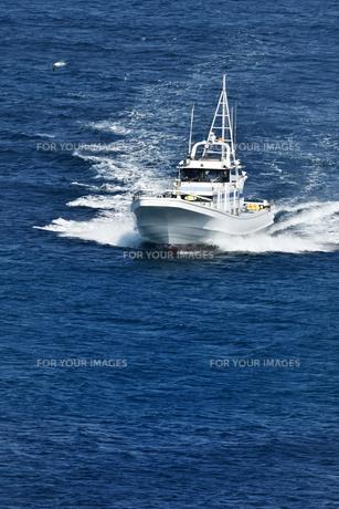 釣り船の写真素材 [FYI01164726]