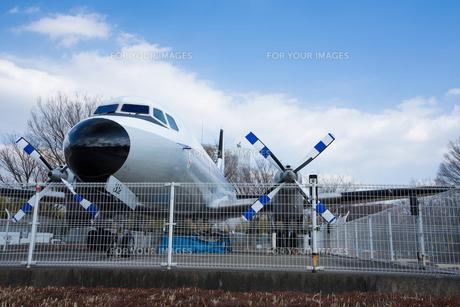 飛行機の写真素材 [FYI01164796]