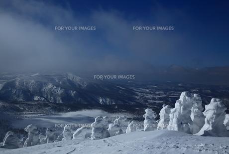 八甲田の樹氷の写真素材 [FYI01165383]