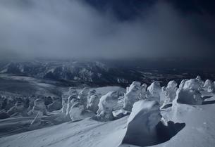 八甲田の樹氷の写真素材 [FYI01165385]