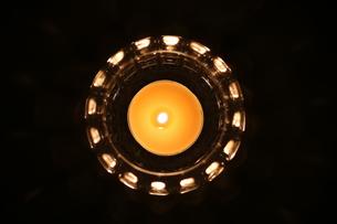 アロマキャンドルの写真素材 [FYI01165471]