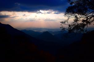 京都大江山の日の出の写真素材 [FYI01165556]