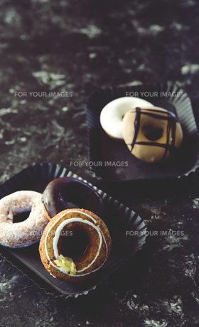 色々なドーナツの写真素材 [FYI01165689]