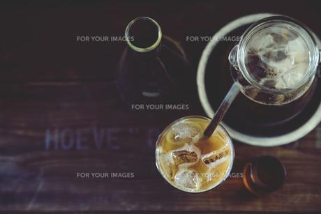 アイスコーヒーの写真素材 [FYI01165701]
