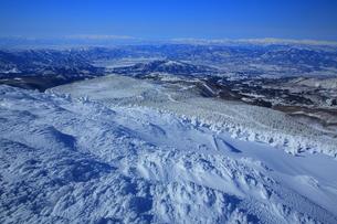 冬の山形蔵王の写真素材 [FYI01165938]