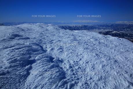 冬の山形蔵王の写真素材 [FYI01165940]