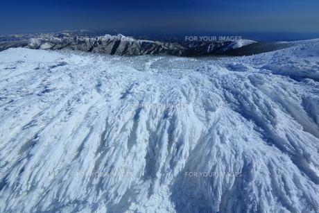 冬の山形蔵王の写真素材 [FYI01166266]