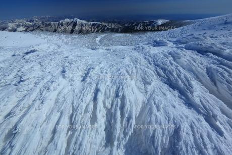 冬の山形蔵王の写真素材 [FYI01166270]