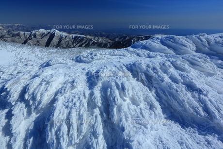 冬の山形蔵王の写真素材 [FYI01166271]