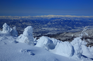 冬の山形蔵王の写真素材 [FYI01166272]