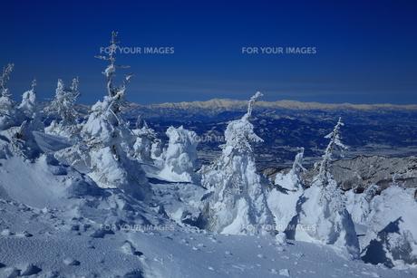 冬の山形蔵王の写真素材 [FYI01166274]