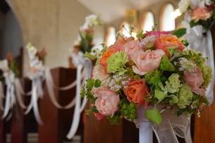結婚式のブーケの写真素材 [FYI01166668]
