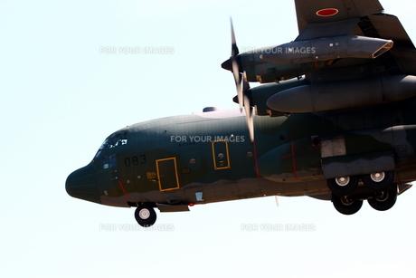 小牧基地 C130輸送機の写真素材 [FYI01166784]