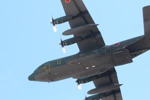 小牧基地 C130輸送機の写真素材 [FYI01166791]