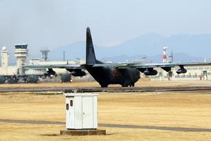 小牧基地 C130輸送機の写真素材 [FYI01166802]