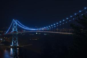 夜の橋 の写真素材 [FYI01166969]