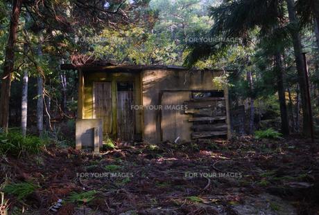 京都大江山の廃墟の写真素材 [FYI01167155]