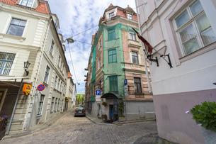 街並み 旧市街 ヨーロッパ リガ ラトビアの写真素材 [FYI01167180]