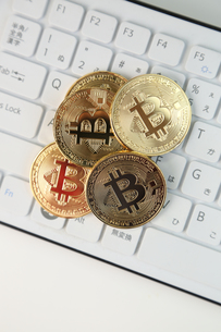 ビットコインの写真素材 [FYI01167206]